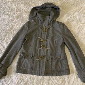 dELiA*s | Gray Toggle Wool Pea Coat
